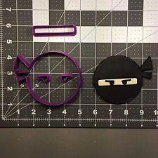Ninja Face 100 Cookie Cutter Set