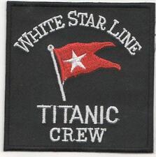 WHITE STAR LINE TITANIC CREW IRON ON PATCH BUY 2 GET 3