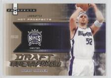 2006-07 Fleer Hot Prospects Draft Rewind DR-BM Brad Miller Sacramento Kings Card
