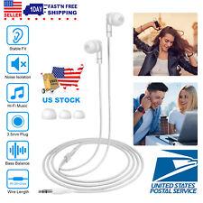 3.5mm In-Ear Headset Earphone Stereo Headphone Universal for Cellphone Lot