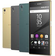 "5.2"" Unlocked Sony Ericsson Xperia Z5 E6653 32GB 23MP Android Cellphone-5 Colors"