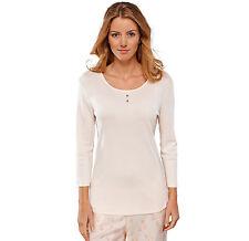 Schiesser Donna mix&relax Maglia Maniche Lunghe T-Shirt Gr 36-46 S S-3XL
