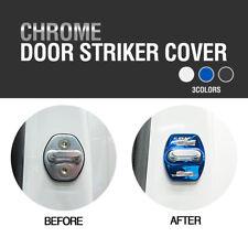 Door Striker Cover Hook Molding Stainless Steel 4P For KIA 2016-2018 Optima / K5