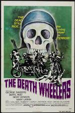 Psychomania George Sanders Horror movie poster print
