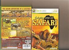 Cabelas safari africano XBOX 360/X Caja 360 Cabela