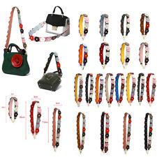 Multi Color Snake Skin Flower Leather Bag Strap Replacement Shoulder Purse Strap