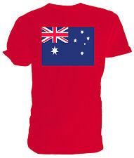 Australian Flag T shirt , Choice of size & colours,