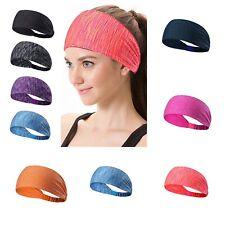 Ladies Elastic Wide Headband Sports Yoga Gym Running Hair Band Women's.  10