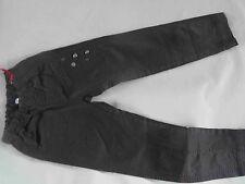 CARBONE tolle braune schmale Stretch Jeans Gr. 122 NEU