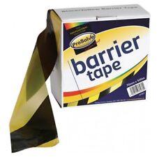 500m x Prosolve 70mm wide yellow black barrier hazard euro safety cordon tape
