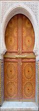 Adhesivo de puerta decoración oriental ref 058 (Tallas a elegir)