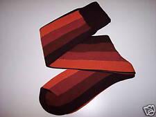 Calze Uomo Lungo Intarsio Righe Ver 50%Lana30%Acr20%Pol