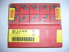 10.Stk Wendeplatten VBMT 16 04 08-UR 525 P10-M10 ***Neu***