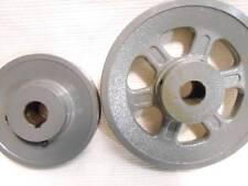 100s V Belt Pulley for 1/2 5/8 Wide Belt 3 4 4.5 5 5.25 5.5 5.75 6 6.25 6.5 6.75