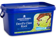 Dodson & horrell DEVIL S Claw root per cavalli e pony, 1,5 kg, 2,5 kg, 5kg