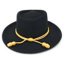 Black Cavalry Gambler Cowboy Hat
