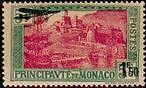 "MONACO AERIEN N°1 ""TP DE 1924-29, 1 F 50 s.5 F"" NEUF xTB"