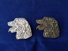 Irish Wolf hound Brooch Pewter Key ring Silver Bronze plate Dannyquest