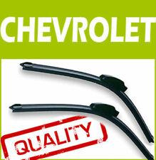 2 Spazzole Tergicristalli Tergi Aerodinamici Anteriori per Chevrolet