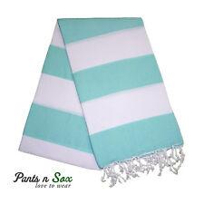 Peshtemal Cotton Turkish Towel Beach Grey Red Stripe Carob Picnic Blanket