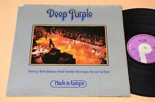 DEEP PURPLE LP MADE IN EUROPE 1° RARA STAMPA BRASILIANA OTTIME EX- CONDIZIONI !!