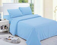 Home Simplicity Microfiber Bed Sheet Set -- Queen Size