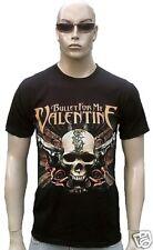 Official Bullet for My Valentine Guns tatuaje Skull hardcore metal t-shirt S/M