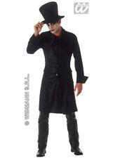 Adult Mens Gothic Raven Vampire Costume