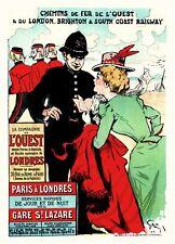 Vintage French Posters: L'Ouest - Les Maitre de l'Affiche - 1899