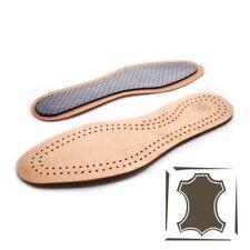 Cuero Real De Zapatos Plantillas Unisex Carbón Activo Original Suela Interior Botas 83