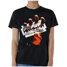 Judas Priest British Steel M, L, XL, 2XL Black T-Shirt