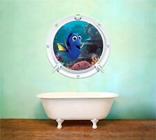Ricerca di Nemo Dory oblò Film MARE Wall Art Sticker Decal Bambini Stampa Murale