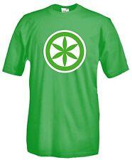 Maglia Padania E31 No Italia Sole Celtico Nord Libero Salvini T-shirt cotone