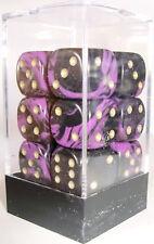 Paquete De 12 Oblivion púrpura Dados - 6 Lados & 15mm lados!