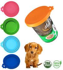 Pet Food Can Cover Lid Dog Cat Pet Tin Silicone Reusable Storage Cap - AU