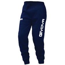 Givova - Pantalone Tuta Moon per uomo e donna, modello dritto, tessuto elasticiz