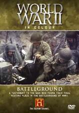 World War II In Colour - Battleground (DVD, 2005)