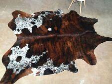 Tricolor Cowhide Rug Brazilian Cow Hide Rug Area Rugs Hair on Hide