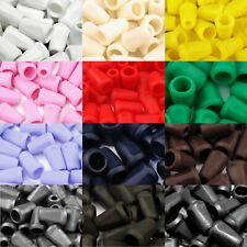 Kordelenden 12*17mm 4mm Kordel - viele Farben  - Kordelstopper Kordelendstück