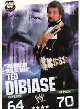 WWE Slam Attax Evolution - Ted DiBiase Legend Card