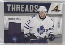 2011-12 Pinnacle Threads Prime #22 Nazem Kadri Toronto Maple Leafs Hockey Card