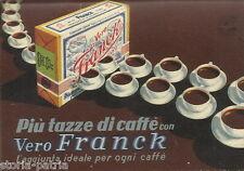 CUCINA_CAFFE'_VADEMECUM FRANCK_CALENDARIO 1939_PUBBLICITARIA SUCCEDANEI CAFFE'