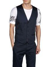 Diesel Jalvorada Men's Navy Blue Waistcoat Vest 00S1HB 0GAAG 81E $228