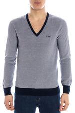 Maglia Maglietta ARMANI JEANS AJ  Sweater Pullover -20% UOMO  Blu A6W10XA-KA