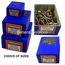 Multi-Purpose Legno Pozi Boxed 200/100 VITI dimensioni 3,0 X 10 MM FINO A 4.0 x 75mm