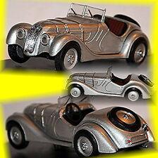 BMW 328 Roadster 1937-39 silber silver metallic 1:43 Schuco