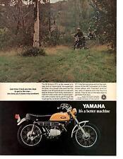 1970 YAMAHA 90 ENDURO HT-1 / TRAILMASTER L5-TA MOTORCYCLE  ~  ORIGINAL PRINT AD