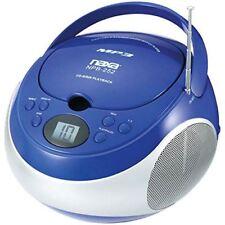 NAXA Electronics Portable MP3/CD Player with AM/FM Stereo Radio (Red)