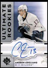 2007-08 Ultimate Collection #130 Andrew Cogliano Rookie RC Auto 160/399 - NM-MT