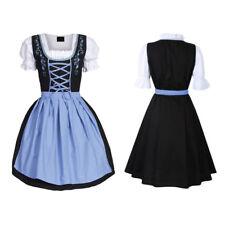 New Women Kojooin Dirndl Oktoberfest German Austrian Beer Costume Fancy Dress